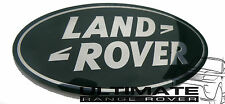 LAND ROVER DISCOVERY 4 DISCO D4 SUPERCHARGED BLACK FRONT GRILL BADGE GRILLE
