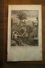 Judah's Incest - Holy Bible Antique Original 1752 Stackhouse Engraved Print