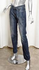 ACNE JEANS MAX SHAVED MENS Blue Cotton Denim Slim Fit Jeans Pant 32/32