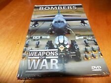 WEAPONS OF WAR BOMBERS Bomber Bombs Air Force Aircraft Planes Military DVD NEW