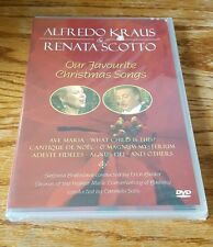 Alfredo Kraus and Renata Scotto: Our Favourite Christmas Songs (DVD) & music NEW