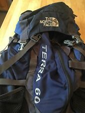 The North Face Terra 60 Hiking Backpack - Blue