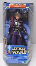 "Star Wars ZAM WESELL AOTC 12"" Action Figure 1/6th scale NIP Bounty Hunter"