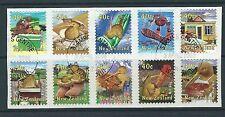 NEW ZEALAND 2000 KIWIANA II SHEETLET OF 10 FINE USED