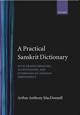 A Practical Sanskrit Dictionary by A. A. Macdonell (1924, Hardcover, Reprint)