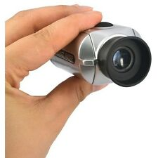7X Digital Telescope Monocular Laser Distance Meter Range Finder