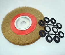 Wire Brush Wheel for Bench Grinder 200mm (8 inch)