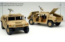 EXOTO 01802 MILITARY DESERT STORM BATTLE SAND GENERAL HUMVEE diecast model 1:18