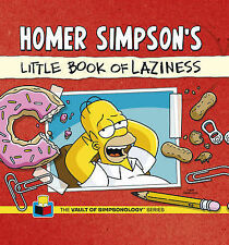 Homer Simpson's Little Book of Laziness by Matt Groening (Hardback, 2013)