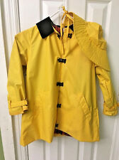 American Girl Pleasant Company Vintage Girls Yellow Rain Coat Molly AG Size S