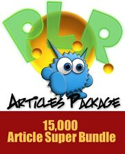 Monster PLR Articles Package