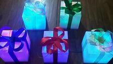 12 impresionante christmas/birthday presents/parcels/lights / tree/table/wedding