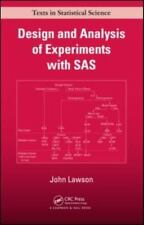 Design and Analysis of Experiments with SAS (Chapman & Hall/CRC Texts in Statis