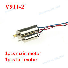 Wltoys V911-2 RC Helicopter Spare Parts 1pcs Main motor + 1pcs tail motor