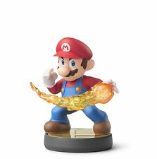 Nintendo Amiibo Figure Fireball Mario Super Smash Bros. Wii U Series NTSC US NIB