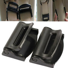 2pcs Car Vehicle Seat Belts Clips Safety Adjustable Stopper Buckle Plastic Clip