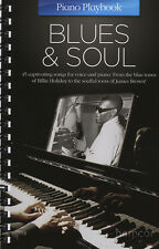 Blues & Soul Piano Playbook Piano Guitarra PVG Partituras libro vocal