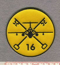 ROYAL AIR FORCE16 SQUADRON BUCCANEER PATCH
