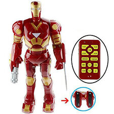"20 Iches""Iron Man Mark III - Remote Control Robot With Many Interactive Features"