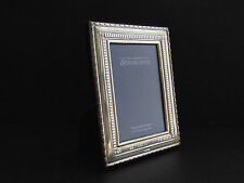 "Carrs of Sheffield Hallmarked Sterling Silver 5x3½"" 13x9cm Photo Picture Frame"