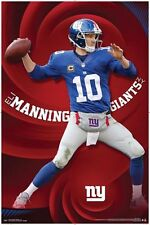ELI MANNING - NEW YORK GIANTS POSTER - 22x34 NFL FOOTBALL NY 14001