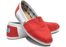 Toms University of Alabama Men's Campus Classics Size 11.5 Slip On Ballet Flats