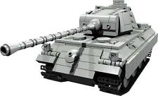 CUSTOM building INSTRUCTION WW2 PANTHER PANZER TANK to build out of LEGO® parts