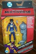 "DC comics MULTIVERSE BATGIRL of burnside 6""  figure king shark baf NEW!"