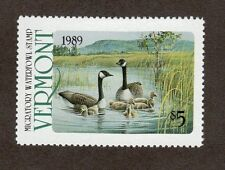VT4 - Vermont  State Duck Stamp. Single. MNH. OG.  #02 VT4