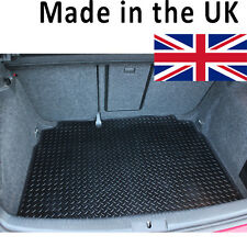 Seat Leon MK II (Facelift model) 2009-2013 Fully Tailored Black Rubber Boot Mat