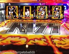 "LOWER PRICE FOR ""2016"" KISS-STERN Pinball Target Cushioned Decals FOR-""PREMIUM"