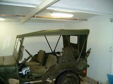 Willy's Jeep MB Jeepverdeck Ford GPW, Sommerverdeck in khaki oder sandfarben