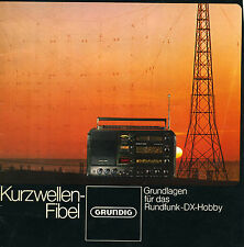 GRUNDIG SATELLIT 3400 SHORTWAVE CONCEPT USER  MANUAL FOR DX