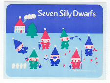 Sanrio Seven Silly Dwarfs Japanese Stickers