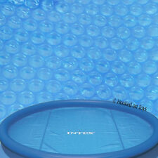 Intex 10' Solar Pool Cover for Easy Set & Metal Frame 29021 Heat Water Hot