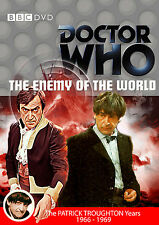 DOCTOR WHO: EL ENEMIGO DEL MUNDO BBC Dr WHO GB R2 bbc DVD - Patrick Troughton