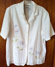 ALFRED DUNNER BLOUSE - SIZE L