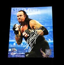 WWE UNDERTAKER HAND SIGNED AUTOGRAPHED 8X10 PHOTOFILE PHOTO WITH COA RIP 99