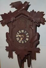 Antique Black Forest Cuckoo Clock by Cuckoo Clock MFG co --Parts or Repair--