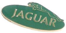 Jaguar oval lapel pin - Green