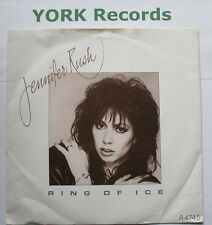 "JENNIFER RUSH - Ring Of Ice - Excellent Condition 7"" Single A 4745"