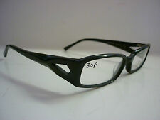 SH446S-03A Chunky Geeky Large Black Frames Glasses Eyeglass Spectacles G-102