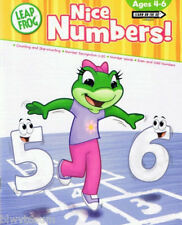 Leap Frog Activity Book Nice Numbers Ages 4-6- Great Learning Book-w/answer key