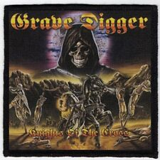 GRAVE DIGGER PATCH / SPEED-THRASH-BLACK-DEATH METAL