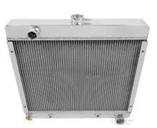 1970-1972 Plymouth Duster All Aluminum 3 Row Core Champion Radiator