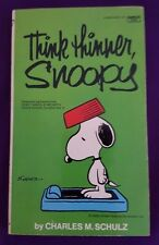 Think Thinner, Snoopy, Charles M. Schulz, 1975, Peanuts, Charlie Brown