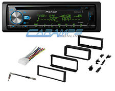 NEW PIONEER CAR STEREO RADIO WITH BLUETOOTH & DASH INSTALL KIT & USB/AUX INPUTS