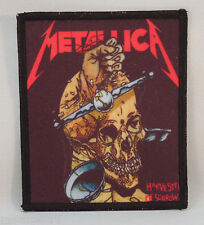 METALLICA Harvester Of Sorrow (Printed Patch) (New)