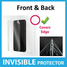 Samsung Galaxy S7 Edge Screen Protector INVISIBLE Shield Full FRONT AND BACK