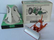 BRITAINS VINTAGE 1962 BOXED MULEDOZER No.9535 FOR USE WITH BRITAINS TRACTORS